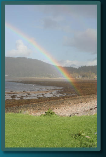 Rainbow on the Shores of Loch Ewe