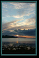 Sunset on the Shores of Loch Ewe